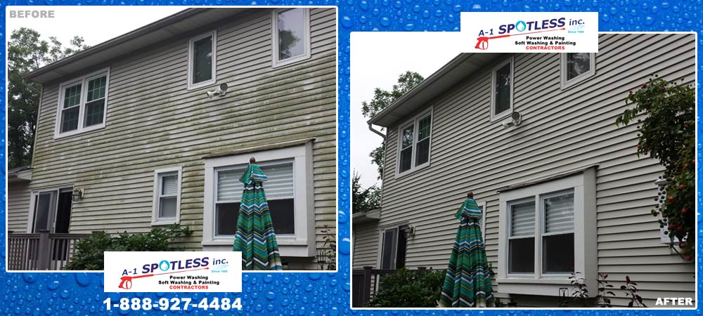 A-1 Spotless, Inc. Soft Wash House Somerset County, Hunterdon County, New Jersey